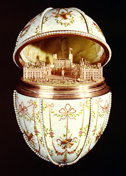Императорское пасхальное яйцо Гатчинский дворец / Imperial Gatchina Palace Egg